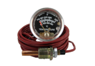 TEMPERATURE GAUGE ENVIROMENTALLY SEALED 150°C 10 FOOT CAPILLARY MURPHY # 0910A20S1510