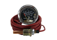 TEMPERATURE GAUGE ENVIROMENTALLY SEALED 120°C 6 FOOT CAPILLARY MURPHY #0910A20S1206