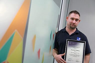 RCT's apprentice recognised as one of the best!
