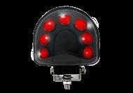 LED ARC LIGHT 9 - 60VDC RED